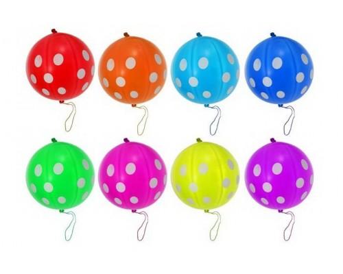 Воздушные шары Панч-болл Горошек 1шт