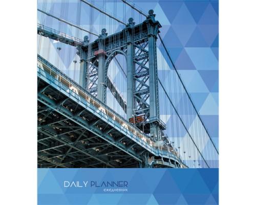 Ежедневник (недатированный) 146х167 128 листов (интегральная обложка) Манхэттенский мост
