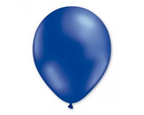 """Воздушные шары Металлик синий 12"""" 1шт."""