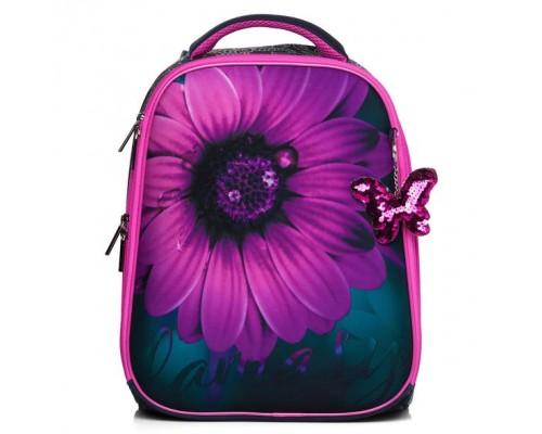 Рюкзак ERGONOMIC Classic -FlowerFantasy для девочки, начальная школа