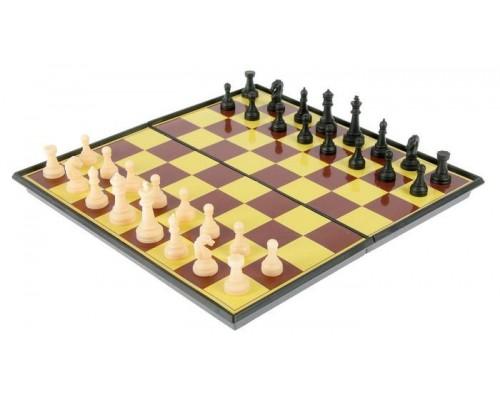 """Набор 2в1 шашки, шахматы """"Баталия"""" 20х20см 536140"""