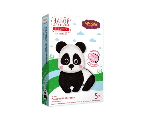 """Набор для изготовления игрушек """"Miadolla"""" Пандочка"""