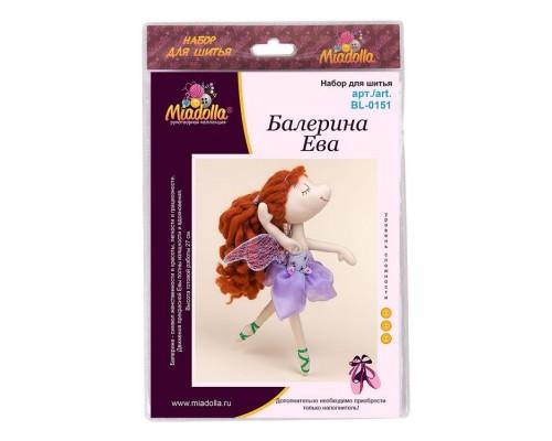 """Набор для изготовления игрушек """"Miadolla"""" Балерина Ева ."""